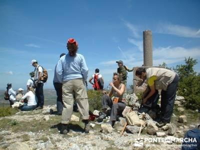 Barranco de Borbocid - conocer gente haciendo senderismo; excursiones desde madrid de un dia